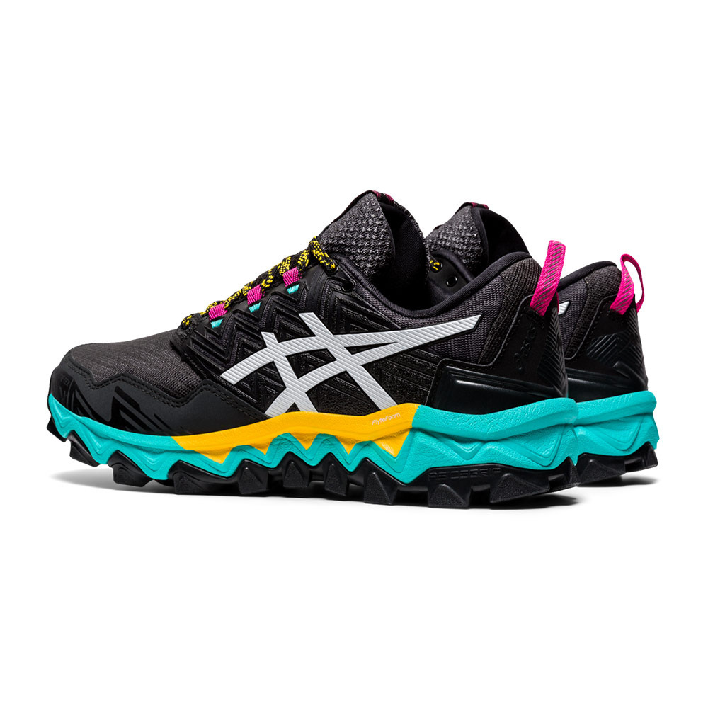Asics GEL-FUJITRABUCO 8 GTX - Chaussures trail Femme black/white ...