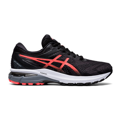 ASICS - GT-2000 8 - Chaussures running Femme black/sunrise red