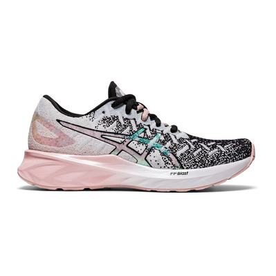 ASICS - DYNABLAST THE NEW STRONG Femme WHITE/GINGER PEACH