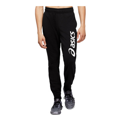 ASICS - BIG LOGO SWEAT PANT Homme PERFORMANCE BLACK/BRILLIANT WHITE