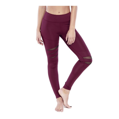ELECTRIC YOGA - DREAM - Legging Donna burgundy