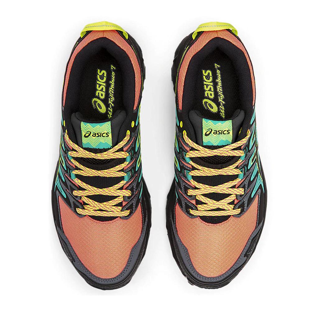 ASICS Asics GEL-FUJITRABUCO 7 - Chaussures trail Femme sun coral ...
