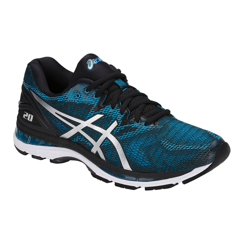 Mantenimiento Hora No hagas  ASICS Asics GEL-NIMBUS 20 - Running Shoes - Men's - island blue/white/black  - Private Sport Shop