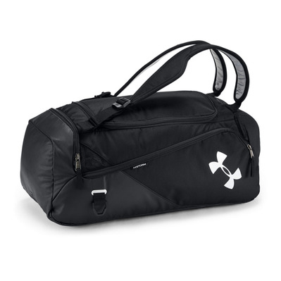 UNDER ARMOUR - UA Contain Duo SM Duffle BP-BLK Homme Black/Black/Silver