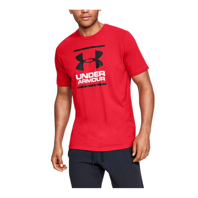 UNDER ARMOUR - UA GL Foundation SS T-RED Homme Red/White/Black