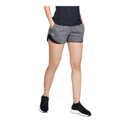 UNDER ARMOUR - PLAY UP TWIST 3.0 - Short mujer black/black/white