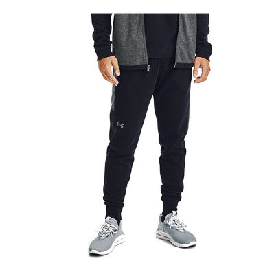 UNDER ARMOUR - DOUBLE KNIT JOGGERS-BLK Homme Black/Pitch Gray/Pitch Gray