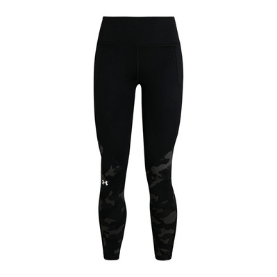 UNDER ARMOUR - COLDGEAR ARMOUR CAMO - Leggings - Frauen - black/black/white