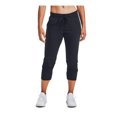 UNDER ARMOUR - Rival Fleece Metallic Jogger-BLK Femme Black/Black/Black