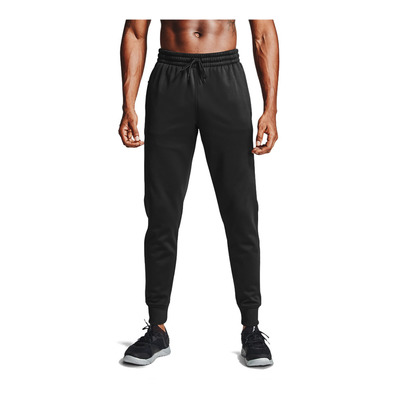 UNDER ARMOUR - ARMOUR FLEECE - Jogging Homme black/black