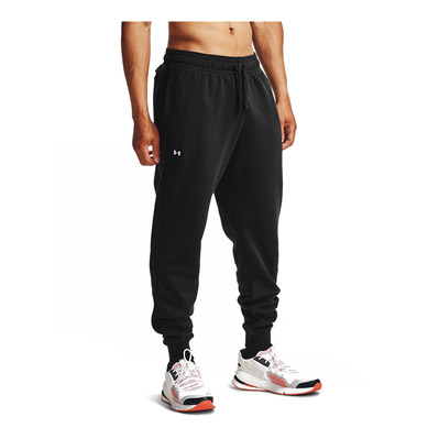 UNDER ARMOUR - UA Rival Fleece Joggers-BLK Homme Black/Onyx White