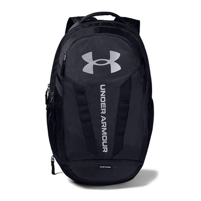 UNDER ARMOUR - UA Hustle 5.0 Backpack-BLK Homme Black/Black/Silver