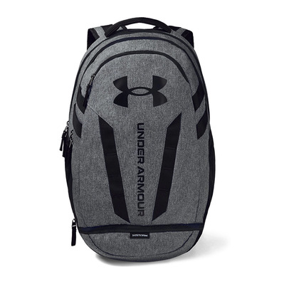 UNDER ARMOUR - UA Hustle 5.0 Backpack-BLK Homme Black/Graphite Medium Heather/Black