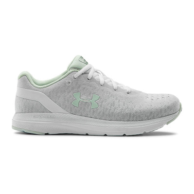 UNDER ARMOUR - CHARGED IMPULSE KNIT - Zapatillas de running mujer white/white/seaglass blue