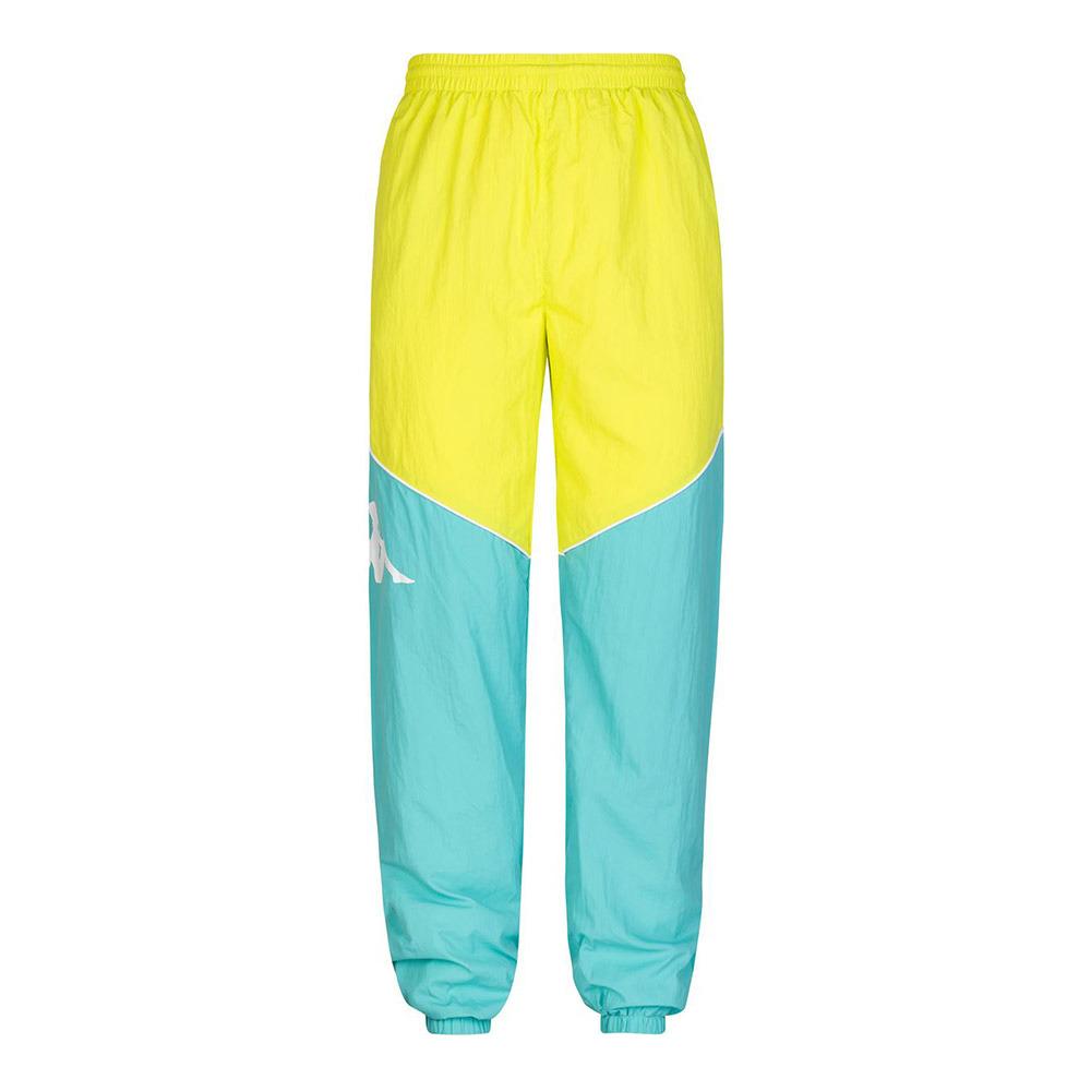 trono Entrelazamiento Moviente  KAPPA MODA Kappa 90 BOLPIS - Pantalón de chándal hombre green light/green  lime - Private Sport Shop