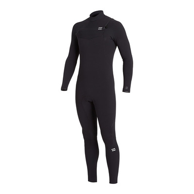 BILLABONG - FURNACE CARBON CHESTZIP GBS - Traje 4/3mm hombre black