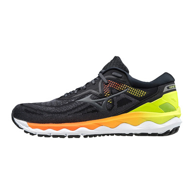 MIZUNO - WAVE SKY 4 - Chaussures running Homme phantom/rock/yellow
