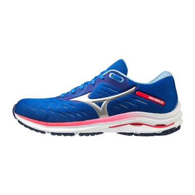 MIZUNO - WAVE RIDER 24 - Running Shoes - Women's - princess blue/sky/pink