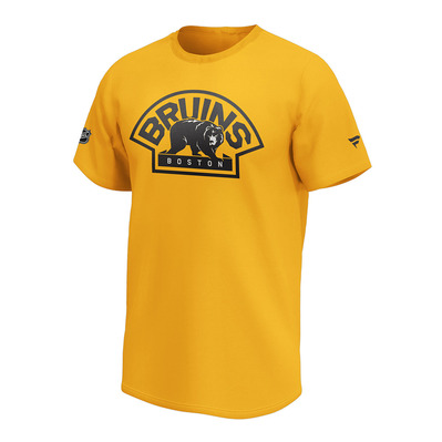 FANATICS - BOSTON BRUINS W1878MGLD2ADBBR - Tee-shirt Homme gold