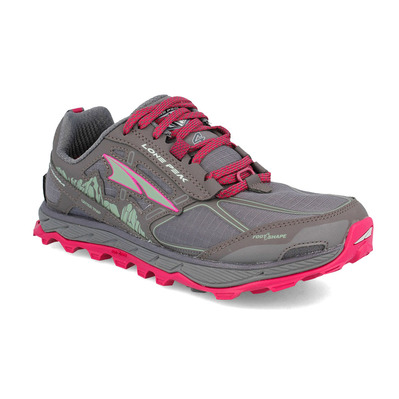 ALTRA - LONE PEAK 4 - Trail Shoes - Women's - raspberry