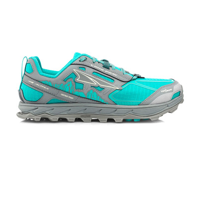 ALTRA - LONE PEAK 4 - Trail Shoes - Women's - teal / grey