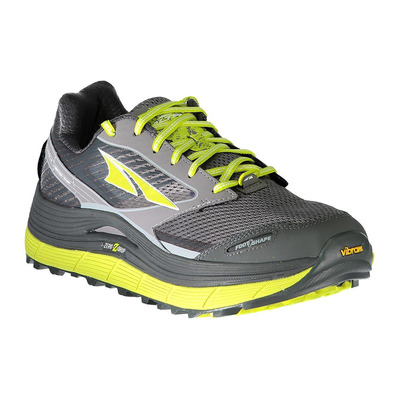 ALTRA - OLYMPUS 2.5 - Trail Shoes - Men's - grey/lime