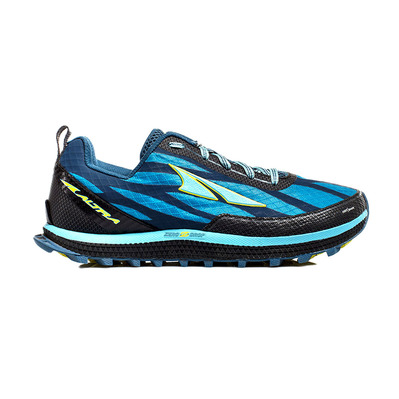 ALTRA - SUPERIOR 3 - Trail Shoes - Women's - blue/lime