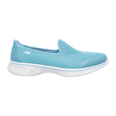 SKECHERS - GO WALK 4 PROPEL - Shoes - Women's - turquoise textile/trim