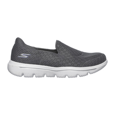 SKECHERS - GO WALK EVOLUTION ULTRA - Shoes - Women's - grey textile