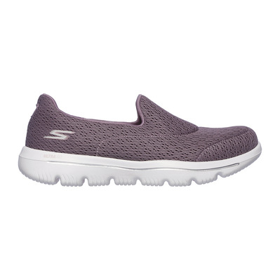 SKECHERS - GO WALK EVOLUTION ULTRA - Shoes - Women's - mauve textile