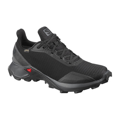 SALOMON - ALPHACROSS GTX - Zapatillas trail mujer black/ebony/black