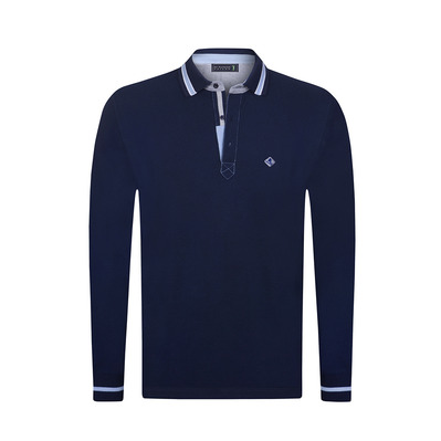SIR RAYMOND TAILOR - BACKER - Polo Homme navy
