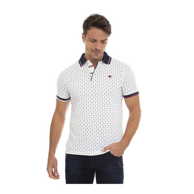SIR RAYMOND TAILOR - DEEPLY - Polo Homme white
