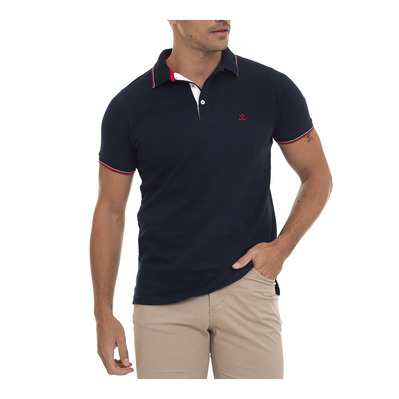 SIR RAYMOND TAILOR - MANHOLD - Polo Homme navy