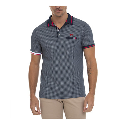 SIR RAYMOND TAILOR - PARY - Polo Homme navy