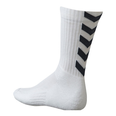 HUMMEL - AUTHENTIC INDOOR - Chaussettes blanc/noir