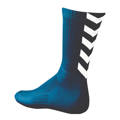 HUMMEL - AUTHENTIC INDOOR - Chaussettes marine/blanc