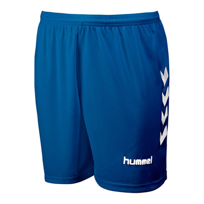 HUMMEL - CHEVRONS - Short roy/blanc