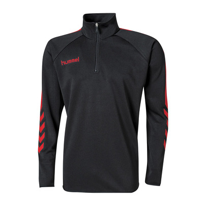 HUMMEL - CORE - Sweat Homme noir/rouge