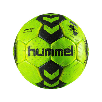 HUMMEL - SENSE GRIP TRAINING+ T3 - Ballon handball acid lime/asphalt