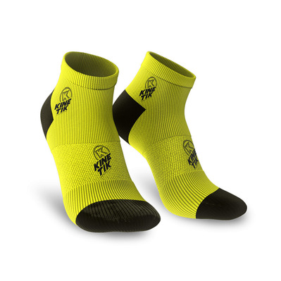 KINETIK - AKTIV LOW - Socks - neon yellow