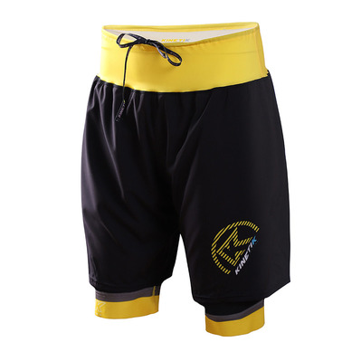 KINETIK - ULTRA TRAIL - Shorts - Men's - yellow