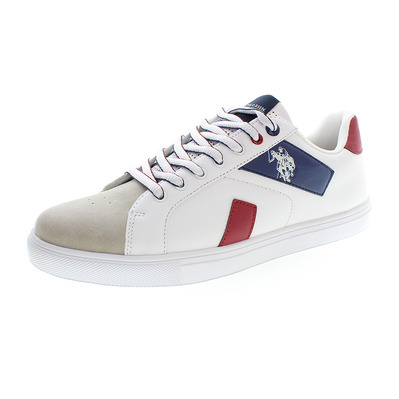 US POLO ASSN - US Polo BRAYDEN - Shoes - Men's - white/red