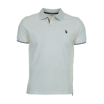 US POLO ASSN - US Polo REFLECTIVE - Polo - Men's - white