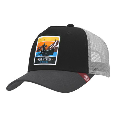 THE INDIAN FACE - BORN TO PADDLE - Cap - black/grey