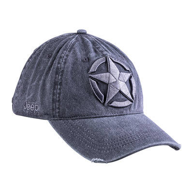 JEEP - STAR EMBROIDERY - Casquette Homme shadow/medium grey
