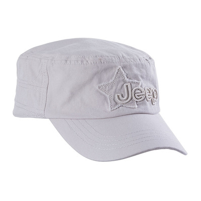 JEEP - J8S CASTRO STAR PATCH - Casquette Homme light grey
