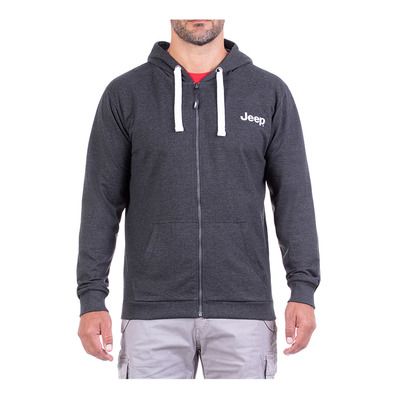 JEEP - TRAVEL EXPLORE - Sweat Homme dark grey