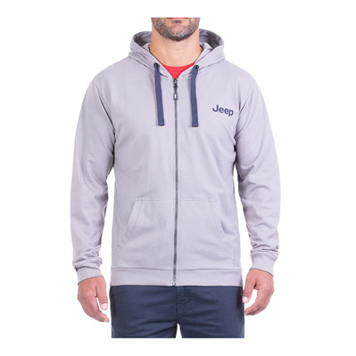 JEEP - TRAVEL EXPLORE - Sweat Homme medium grey/dark blue