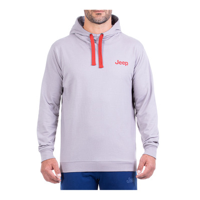 JEEP - BAMBOO STAR - Sweat Homme medium grey/red